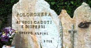 Monumento ai caduti Polonghera alpini Cervasca