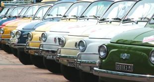 Carignano, torna il raduno delle Fiat 500