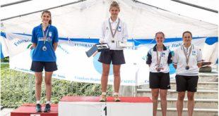 Luisa Bongioanni, argento ai campionati italiani