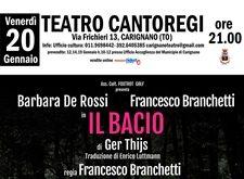 Barbara De Rossi al Teatro Cantoregi di Carignano