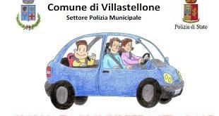 Villastellone: ragazzi e adulti a lezione di sicurezza stradale