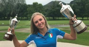 Golf, primo scudetto tricolore per l'azzurra Caterina Don