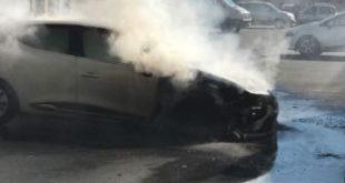 A fuoco l'auto dell'assessore Cammarata