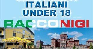 Bocce: campionati italiani under 18 a Racconigi