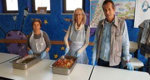 """Al """"Bruno Longo"""" distribuzione di pasti agli indigenti"""