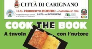 Carignano: torna Cook the Book con Alessandro Perissinotto