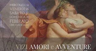 """""""Tra vizi, amori e avventure degli antichi Dei"""" al Castello di Racconigi"""