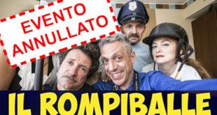 Carignano: annullato Il Rompiballe al Cantoregi