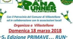 Primave…run e Stranarunner a Villastellone