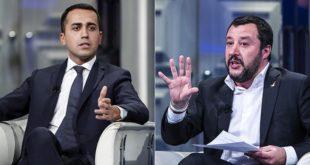Lega M5S Di Maio Salvini elezioni 2018