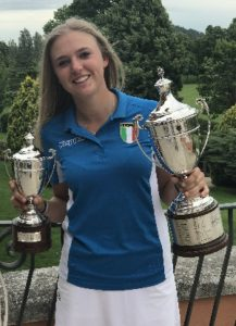 Caterina Don golf club La Margherita campionessa