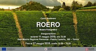 Carlo Avataneo mostra fotografica Roero Regione Piemonte