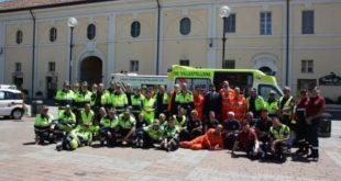 Villastellone, giornata di Protezione Civile in Piazza Libertà.