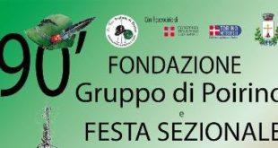 A Poirino si celebrano i 90 anni del gruppo Alpini