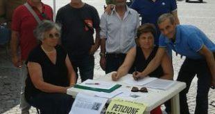 raccolta firme petizione sede Inps Sicilia La Mura