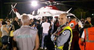 Inaugurata a Villastellone la pista notturna per l'elisoccorso