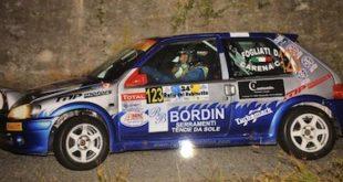 """Fogliati e Carena alla sfida del """"Rally del Rubinetto"""""""