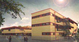 Una vista di come diventerà la scuola media Manzoni