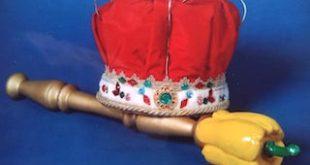 Scettro e corona di Re Peperone