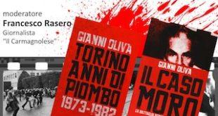 Gianni Oliva Carmagnola caso Moro anni di piombo