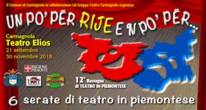 teatro piemontese 2018