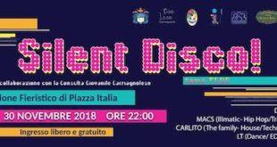 silent disco carmagnola