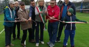 Inaugurato il nuovo campo da tennis a Salsasio