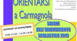 salone orientamento scolastico carmagnola 2018 2019