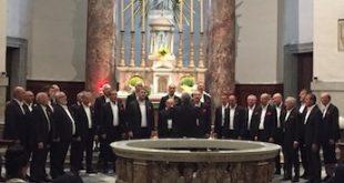 coro Città di Carignano concerto grande guerra Natale 2018