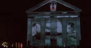 Universe spettacolo multimediale di mapping in Piazza Sant'Agostino