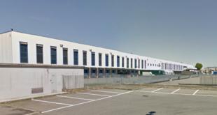 L'attuale piattaforma della LIDL a Volpiano, che serve Piemonte occidentale, Valle d'Aosta e Liguria di Ponente.