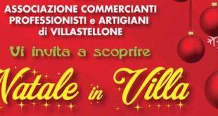 """""""Natale in Villa"""" per un magico sabato sera pre-natalizio"""