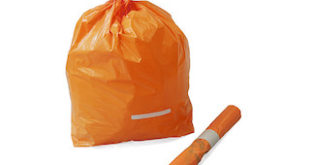 sacchi arancioni rifiuti Ceresole d'Alba