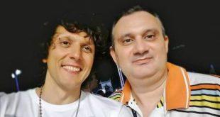 Antonio Cospito con Ermal Meta