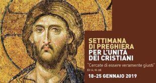 Celebrazione ecumenica per l'unità dei Cristiani