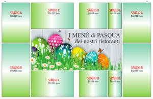 Menù di Pasqua e Pasquetta offerta speciale pubblicità inserzione Il Carmagnolese aprile 2019