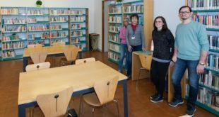 la biblioteca di Carmagnola