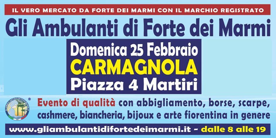 Gli Ambulanti Di Forte Dei Marmi Calendario 2020.A Carmagnola Arrivano Gli Ambulanti Di Forte Dei Marmi Il