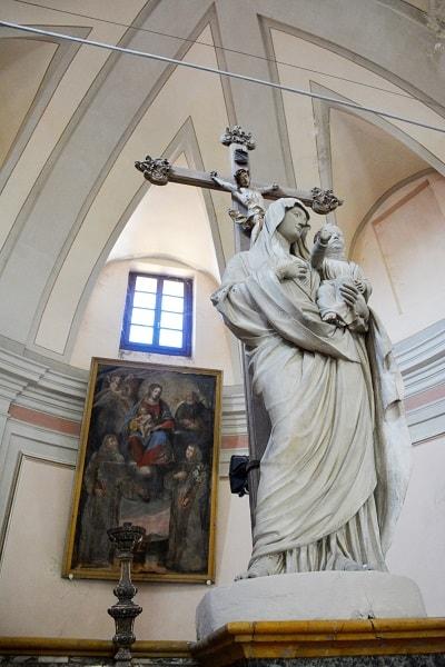 Castagnole Piemonte Copia in gesso della Madonna Consolata