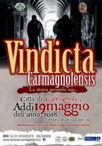 vindicta carmagnolensis weekend sabato 19 maggio 2018