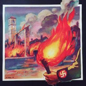 Incendio borgo Salsasio commemorazione