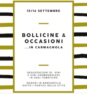 Bollicine e Occasioni in Carmagnola