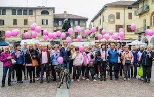 Andos Carmagnola camminata in rosa prevenzione tumore seno