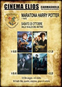 maratona film Harry Potter