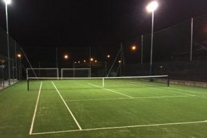 A salsasio inaugura il nuovo campo da tennis il carmagnolese