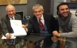 ospedale unico Asl TO5 firma accordo Moncalieri Saitta Chiamparino
