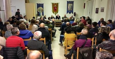 L'incontro a Salsasio in cui si è parlato di grande viabilità a Carmagnola incontri Comitato Salsasio Vivibile
