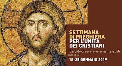 celebrazione ecumenica Settimana di preghiera per l'unità dei cristiani 2019