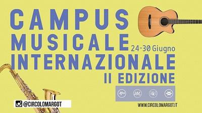 campus musicale internazionale Carignano Margot