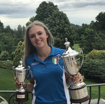 Caterina Don golf club La Margherita Carmagnola